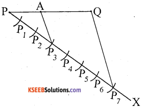 KSEEB Solutions for Class 10 Maths Chapter 6 Constructions Additional Questions 2