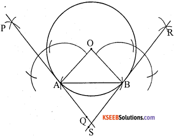 KSEEB Solutions for Class 10 Maths Chapter 6 Constructions Additional Questions 3