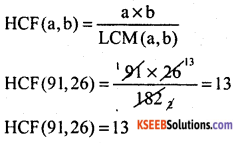 KSEEB Solutions for Class 10 Maths Chapter 8 Real Numbers Additional Questions 2