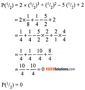 KSEEB Solutions for Class 10 Maths Chapter 9 Polynomials Ex 9.4 1
