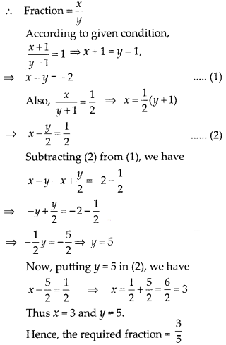KSEEB SSLC Class 10 Maths Solutions Chapter 3 Pair of Linear Equations in Two Variables Ex 3.4 1