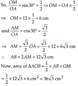 KSEEB SSLC Class 10 Maths Solutions Chapter 5 Areas Related to Circles Ex 5.2 Q7