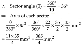 KSEEB SSLC Class 10 Maths Solutions Chapter 5 Areas Related to Circles Ex 5.2 Q9