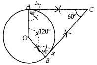 KSEEB SSLC Class 10 Maths Solutions Chapter 6 Constructions Ex 6.2 Q4